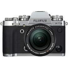 FUJIFILM X-T3 Mirrorless Digital Camera with 18-55mm Lens - Silver 16589199_1