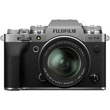 Fujifilm X-T4 Mirrorless Digital Camera with Fujinon Aspherical 18-55mm Lens - Silver