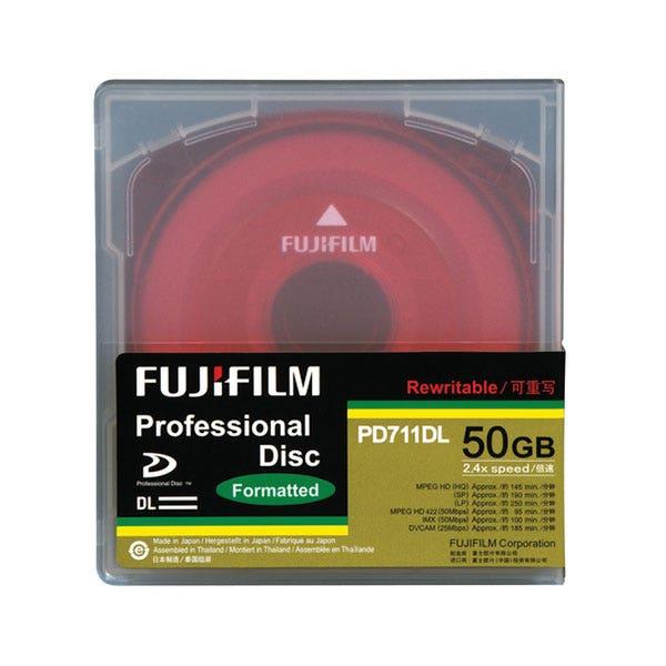 Fujifilm XDCAM Pro Disc - PD711DL - 50 GB - 2.4x - Dual Layer