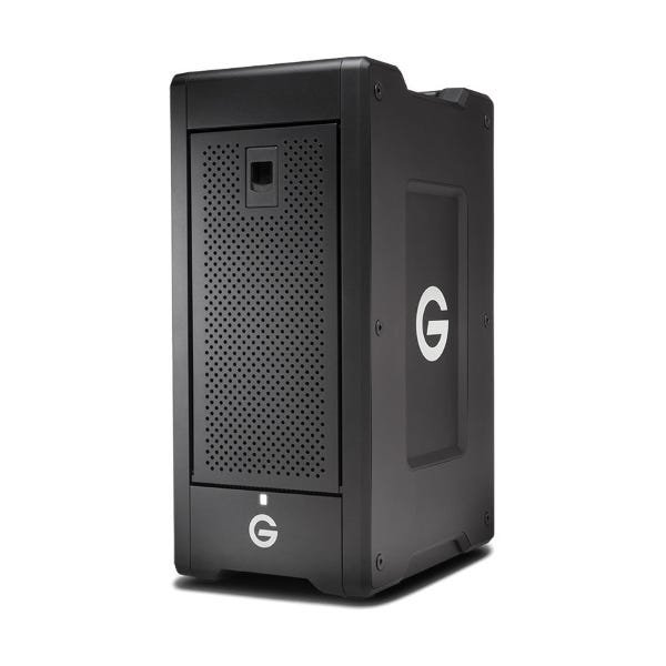 G-Technology 60TB G-SPEED Shuttle XL 8-Bay Thunderbolt 3 RAID Array with Two ev Bay Adapters