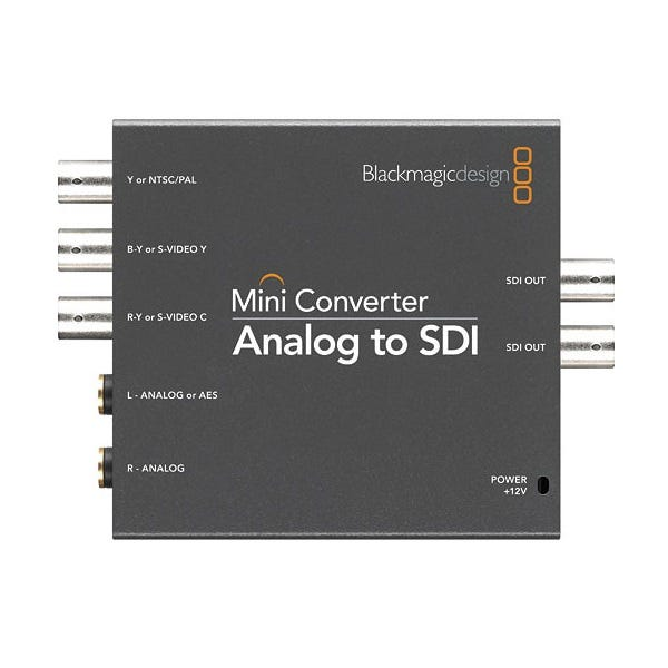 BlackMagic Mini Converter - Analog/SDI 2