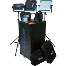 Dracast BV/G Plus LED Bi-Color 4-Light ENG Complete Kit