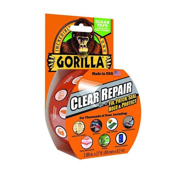 "Gorilla 2"" Clear Repair Tape - Clear"