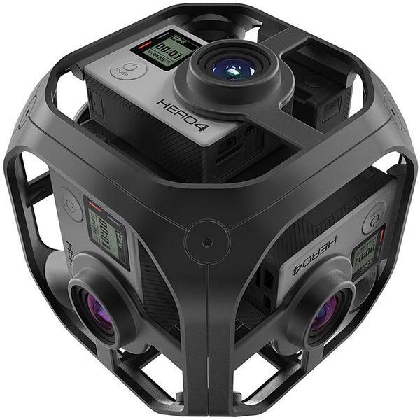 GoPro Omni Spherical 360° VR Video Rig - Rig Only