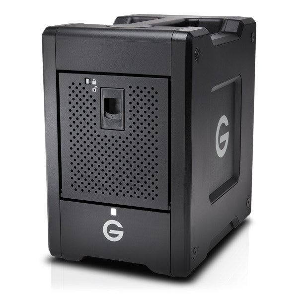 G-Technology 48TB G-SPEED Shuttle 4-Bay Thunderbolt 3 RAID Array Drive