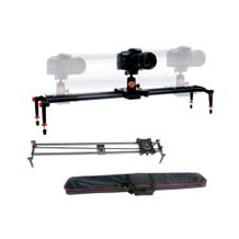 GTX Carbon Fiber Camera Slider With Panning Base - 31 Inches (Padded Bag Included)