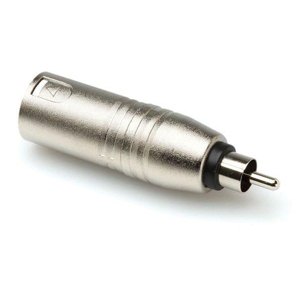 Hosa GXR-135 Analog Audio Adaptor Male 3-Pin XLR Adaptor to RCA