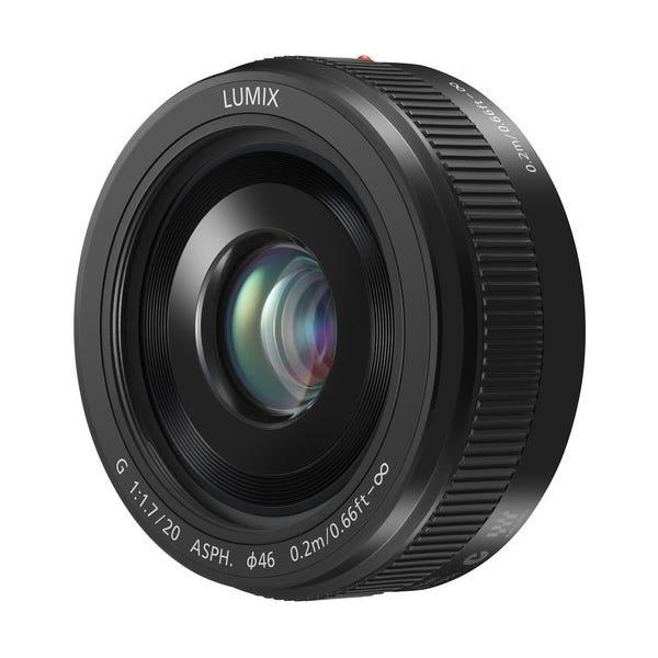 Panasonic Lumix G 20mm f/1.7 II ASPH. Lens - Black