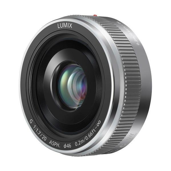 Panasonic Lumix G 20mm f/1.7 II ASPH. Lens - Silver