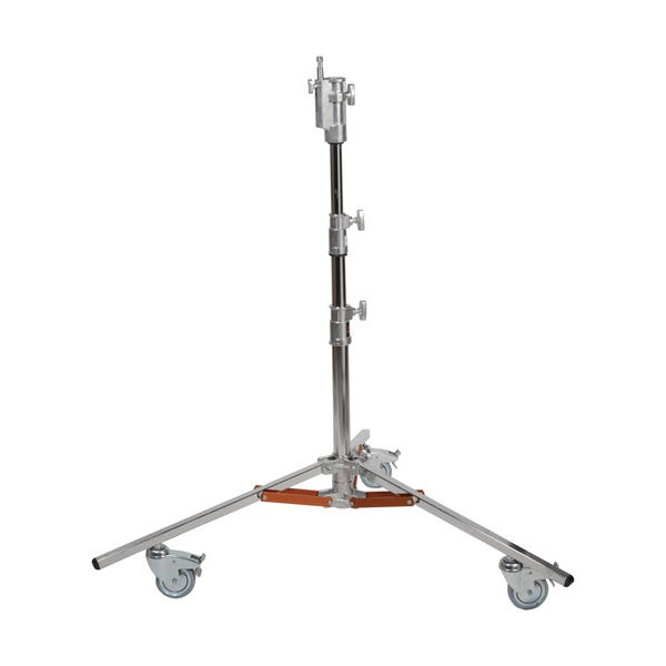"Matthews Studio Equipment 6' 3"" Low Boy Junior Rolling Steel Stand - Double Riser"