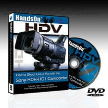"""Vortex Media HC1DVD """"Hands On HDV"""" How to Shoot with the Sony HC1, 120 Minute Instructional DVD for the Sony HC1 Camcorder"""