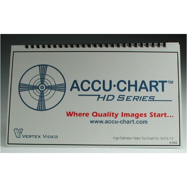Accu-Chart HDTV - High Definition Engineers Test Chart
