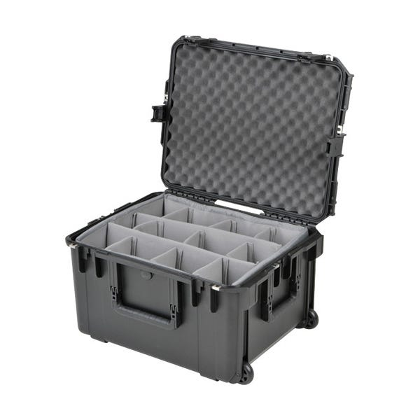 HIVE LIGHTING Hard Padded Rolling Case for Two Hornet 200-C Lights