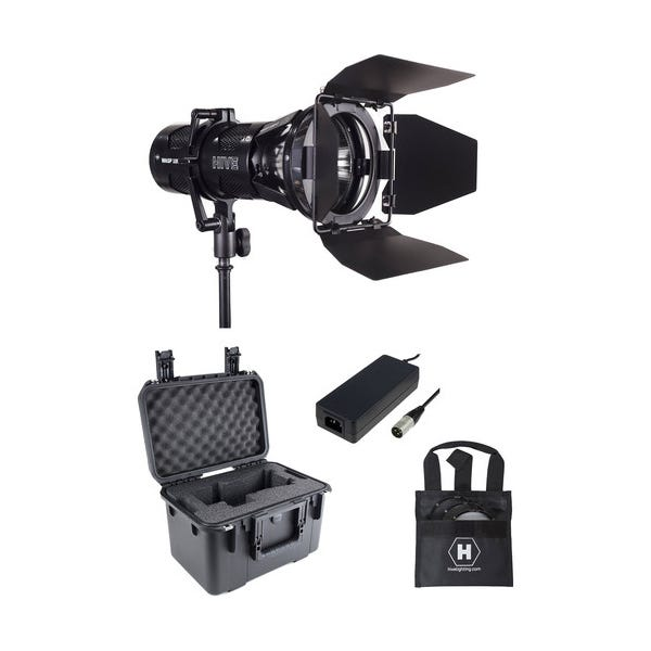 HIVE LIGHTING Wasp 100-C LED Spot Light Kit with Stand and Case