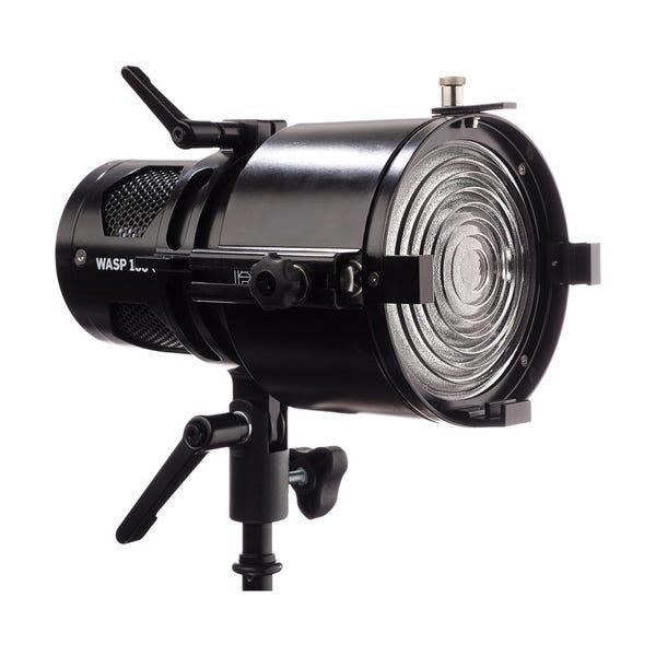 HIVE LIGHTING Wasp 100-C Adjustable Fresnel LED Light - Black