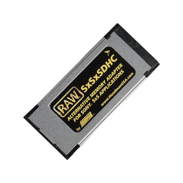 Hoodman RAW SxSxSDXC Memory Adapter