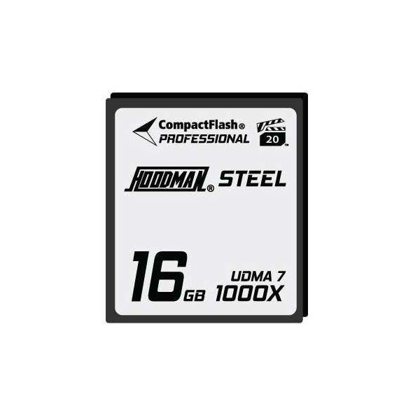 Hoodman HS7CF16 RAW High Speed Compact Flash Memory Card 16GB