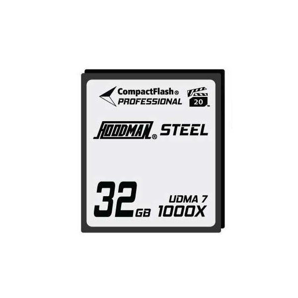Hoodman HS7CF32 Steel CompactFlash Memory Card 1000X 32GB