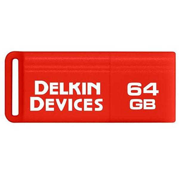 Delkin 64GB PocketFlash USB 3.0 Flash Drive
