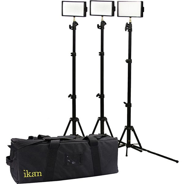 ikan iLED312-v2 3-Point Light Kit