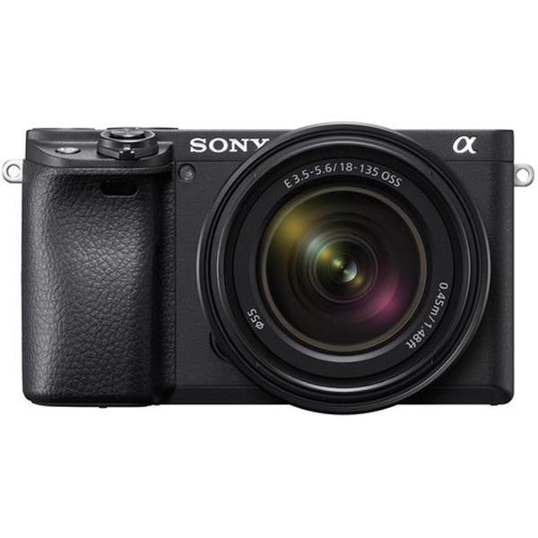 Sony Alpha a6400 Mirrorless Digital Camera w/ 18-135mm Lens