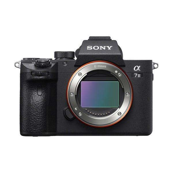 Sony Alpha a7 III Mirrorless Digital Camera - Body Only