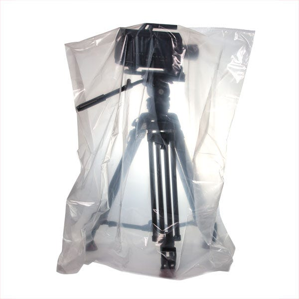"Filmtools 36 x 28 x 52"" 3-Mil Visqueen Bags / Tarps / Rain Covers - Medium, Clear"