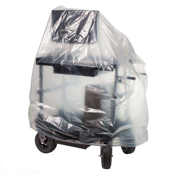 "Filmtools 48 x 34 x 60"" 3-Mil Visqueen Bags / Tarps / Rain Covers - Large, Clear"