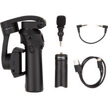 Benro X Series 3XS Lite 3-Axis Handheld Gimbal with Saramonic SmartMic for Smartphones