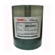 CMC Pro Taiyo Yuden 52x White Thermal Printable CD-R - 100pc