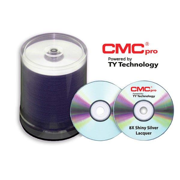 CMC Pro Taiyo Yuden 8X Silver Inkjet Printable DVD-R - 100pc
