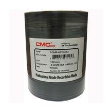 CMC Pro Taiyo Yuden 16X White Everest Thermal Hub Printable DVD-R 4.7GB - 100pc