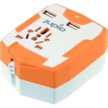 Jupio PowerVault 6000 Portable Battery Pack & Travel Adapter