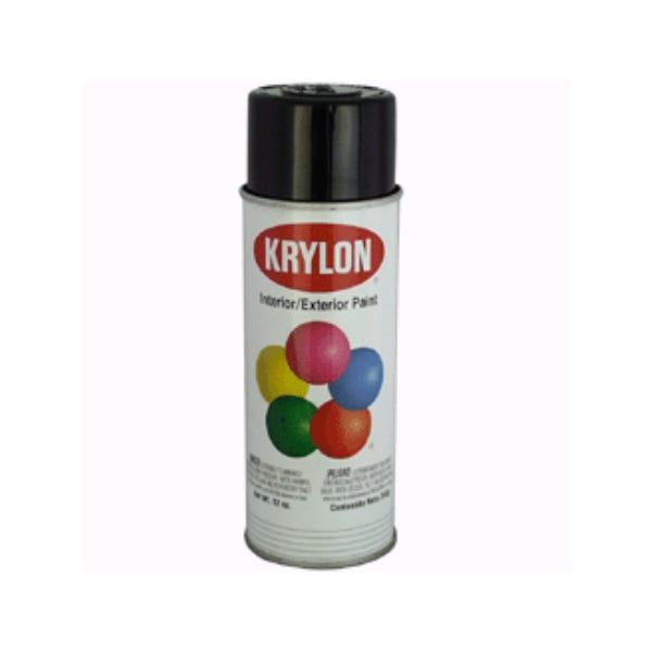 Krylon Spray Paint - Semi Flat Black (Ground Only)