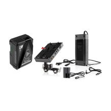 SHAPE D-Box Camera Power/Charger Kit with 98Wh Battery for Canon 5D/7D & Blackmagic Pocket 4K