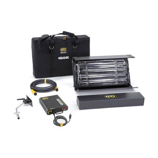 Kino Flo 2ft 4Bank Light Kit (1-Unit) w/ Soft Case Light