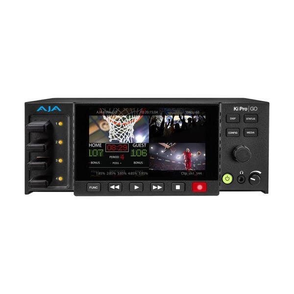 AJA Ki Pro GO Portable Multichannel H.264 USB 3.0 Recorder/Player