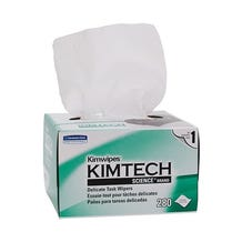 "Kimtech Science 4.4 x 8.4"" KimWipes Delicate Task Wipers - 1-ply 280 count"
