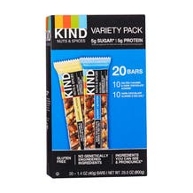 Kind Nuts & Spices Bar Variety Pack - 20 Pack
