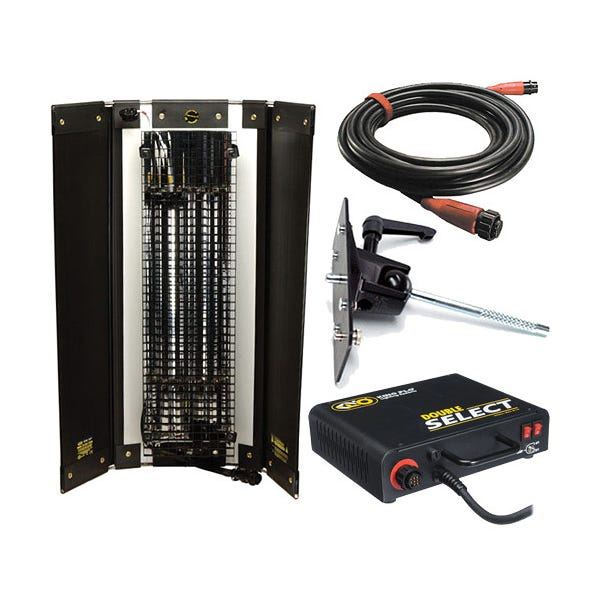 Kino Flo 2' Double Select System Light Kit,120V - Open Box