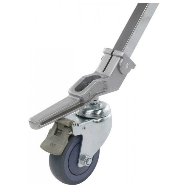 "Kupo 3-15/16"" Caster w/ Brake & 1"" Square Adapter"