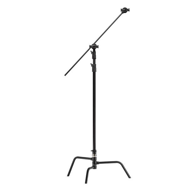 "Kupo 40"" Master Black C-Stand with Turtle Base, Grip Head & Arm"