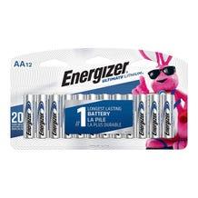Energizer L91SBP-12 AA Lithium Batteries (12 Battery Count)