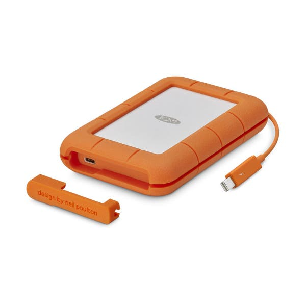 LaCie 500GB Rugged Thunderbolt USB Type-C External SSD