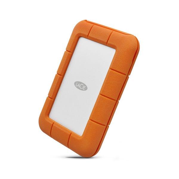 LaCie 4TB Rugged Thunderbolt USB-C Portable Hard-Drive
