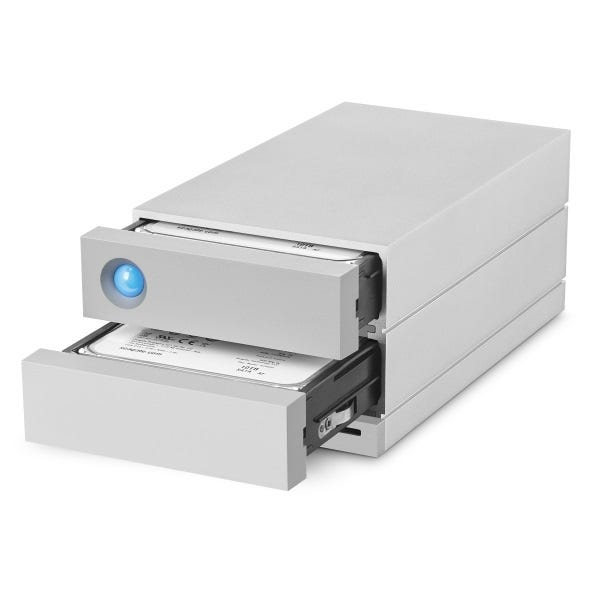 LaCie 20TB 2big Dock Thunderbolt 3 Dual-Disk RAID Drive