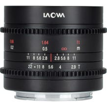 Laowa - Venus Optics 9mm T2.9 Zero-D Cine Lens - MFT Lens Mount