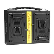 Nanlite Dual 26V V-Mount Battery Deck Charger