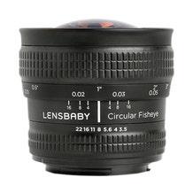 Lensbaby 5.8mm f/3.5 Circular Fisheye Lens (F Mount)