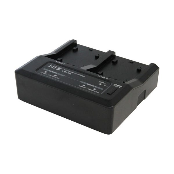 IDX System Technology Two-Channel Charger for 7.4V Canon, Panasonic, and Sony Batteries